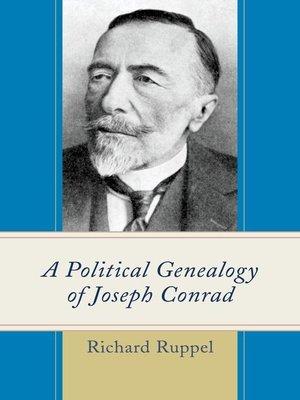 cover image of A Political Genealogy of Joseph Conrad