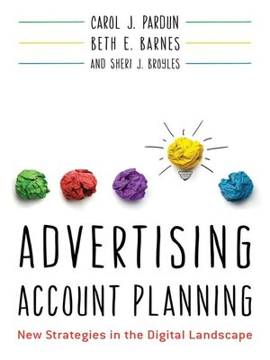 cover image of Advertising Account Planning