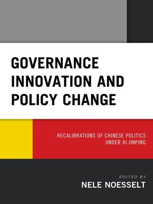 cover image of Governance Innovation and Policy Change