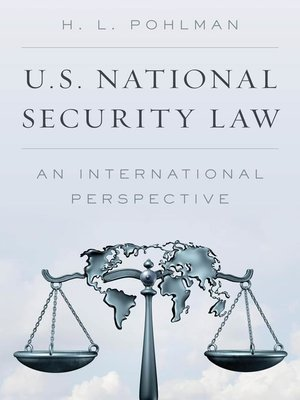 cover image of U.S. National Security Law