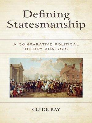 cover image of Defining Statesmanship