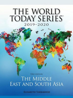 cover image of The Middle East and South Asia 2019-2020