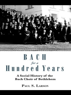 cover image of Bach for a Hundred Years