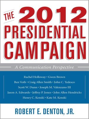 cover image of The 2012 Presidential Campaign