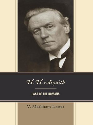 cover image of H. H. Asquith