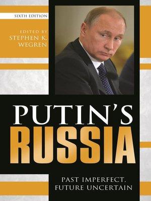 cover image of Putin's Russia