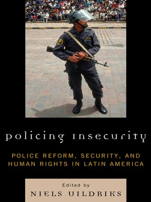 cover image of Policing Insecurity