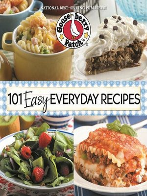 cover image of 101 Easy Everyday Recipes Cookbook