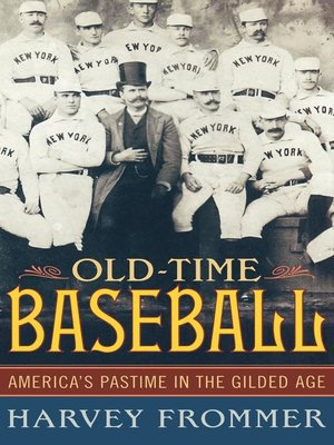 cover image of Old Time Baseball