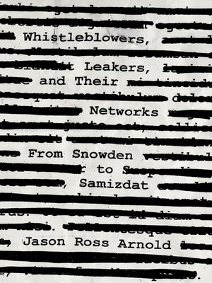 cover image of Whistleblowers, Leakers, and Their Networks