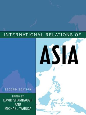 cover image of International Relations of Asia