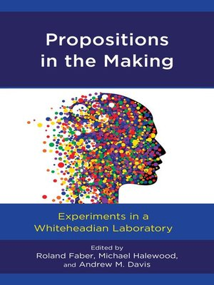 cover image of Propositions in the Making