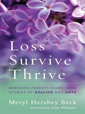 Loss, Survive, Thrive Book Cover