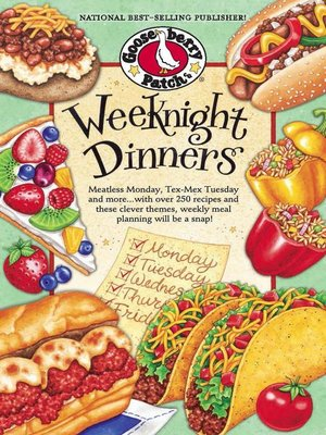 cover image of Weeknight Dinners