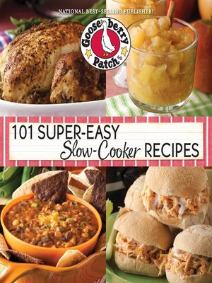 cover image of 101 Super-Easy Slow-Cooker Recipes Cookbook