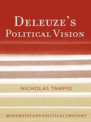 cover image of Deleuze's Political Vision