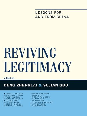 cover image of Reviving Legitimacy
