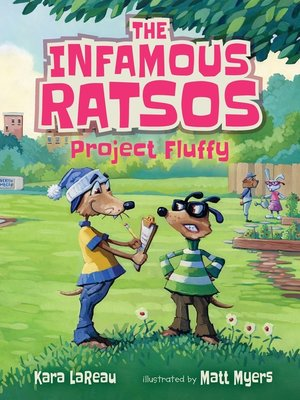 cover image of The Infamous Ratsos: Project Fluffy