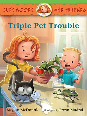 cover image of Triple Pet Trouble