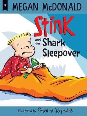 cover image of Stink and the Shark Sleepover