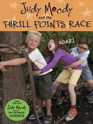 cover image of Judy Moody and the Thrill Points Race