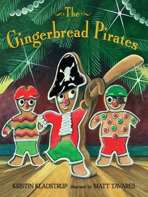 cover image of The Gingerbread Pirates