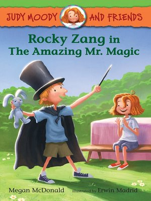 cover image of Rocky Zang in the Amazing Mr. Magic