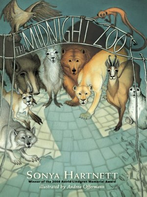 cover image of The Midnight Zoo