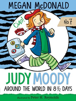 cover image of Judy Moody: Around the World in 8 1/2 Days