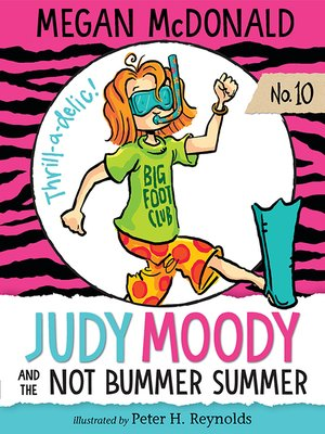 cover image of Judy Moody and the NOT Bummer Summer