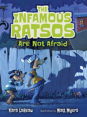 cover image of The Infamous Ratsos Are Not Afraid