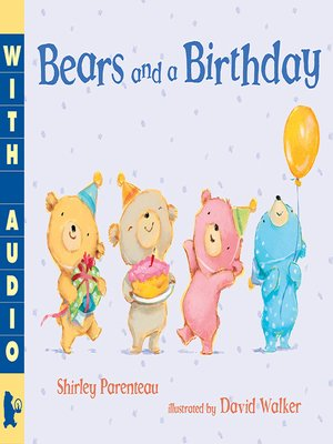cover image of Bears and a Birthday