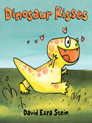 cover image of Dinosaur Kisses