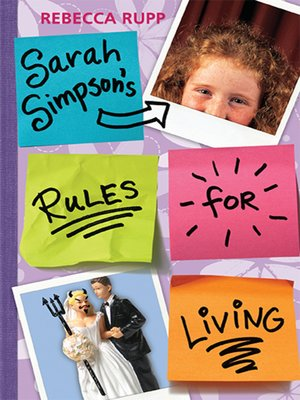 cover image of Sarah Simpson's Rules for Living