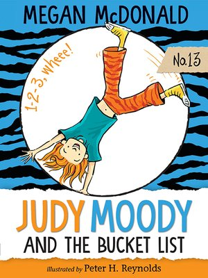 cover image of Judy Moody and the Bucket List