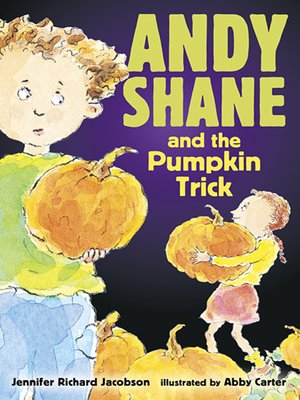 cover image of Andy Shane and the Pumpkin Trick