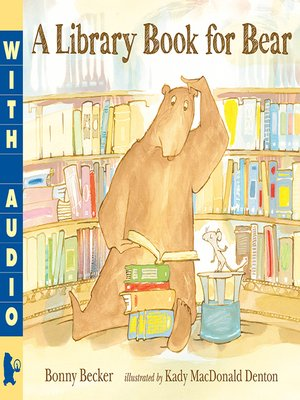 cover image of A Library Book for Bear