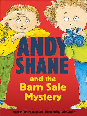 cover image of Andy Shane and the Barn Sale Mystery
