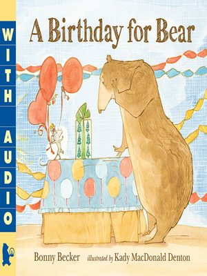 cover image of A Birthday for Bear