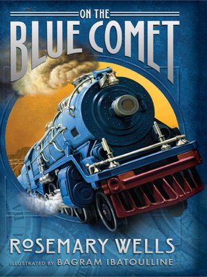 cover image of On the Blue Comet