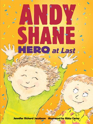 cover image of Andy Shane, Hero at Last