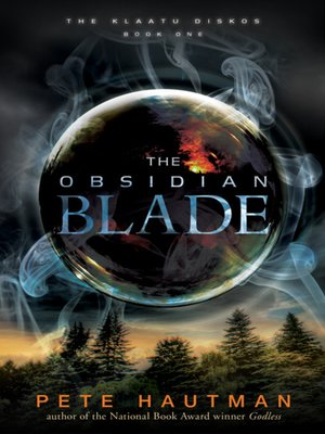 cover image of The Obsidian Blade
