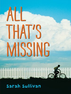 cover image of All That's Missing