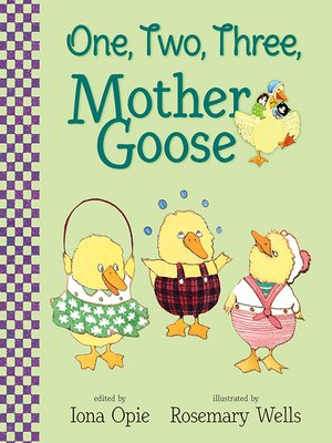 cover image of One, Two, Three, Mother Goose