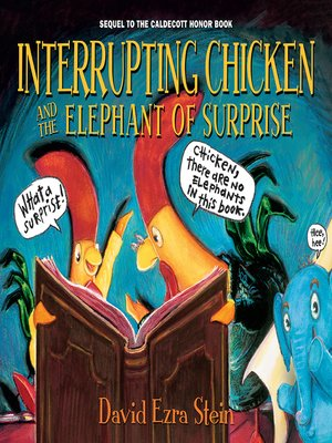 cover image of Interrupting Chicken and the Elephant of Surprise