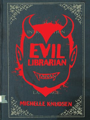 cover image of Evil Librarian