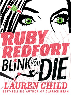 cover image of Ruby Redfort Blink and You Die