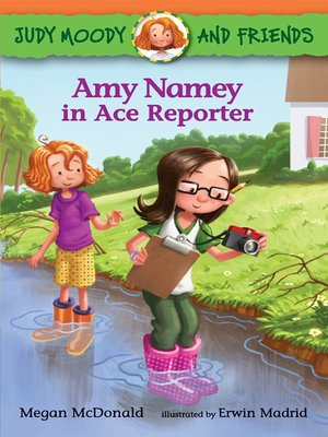 cover image of Amy Namey in Ace Reporter
