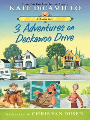 cover image of 3 Adventures on Deckawoo Drive