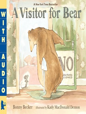 cover image of A Visitor for Bear